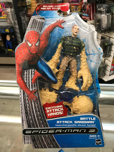 Spider-man 3 Battle Attack Sandman