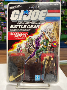 Hasbro G.I. Joe Battle Gear Accessory Pack #5 (1986)