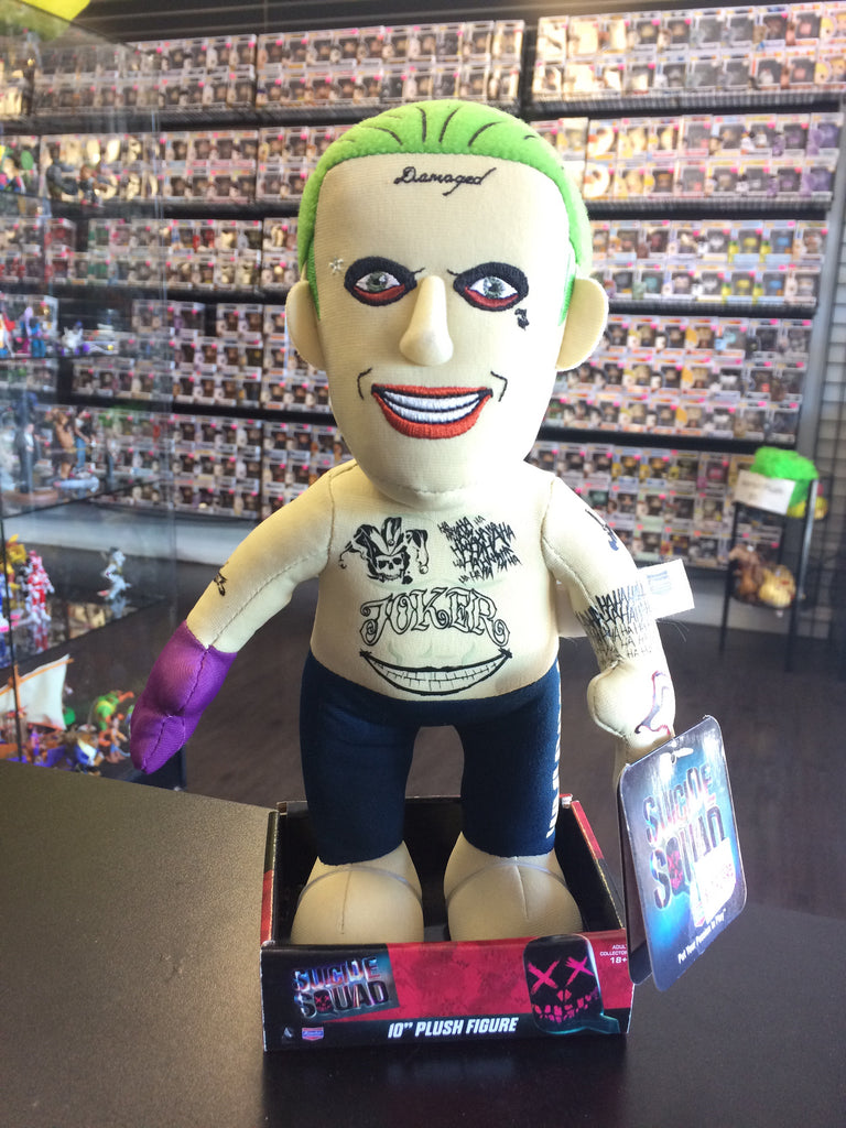 "Suicide Squad 10"" Plush Joker figure"