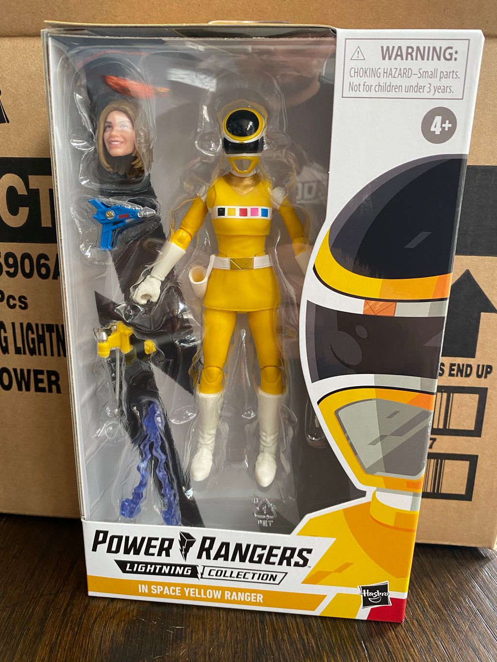 Hasbro Power Rangers Lightning Collection In Space Yellow Ranger