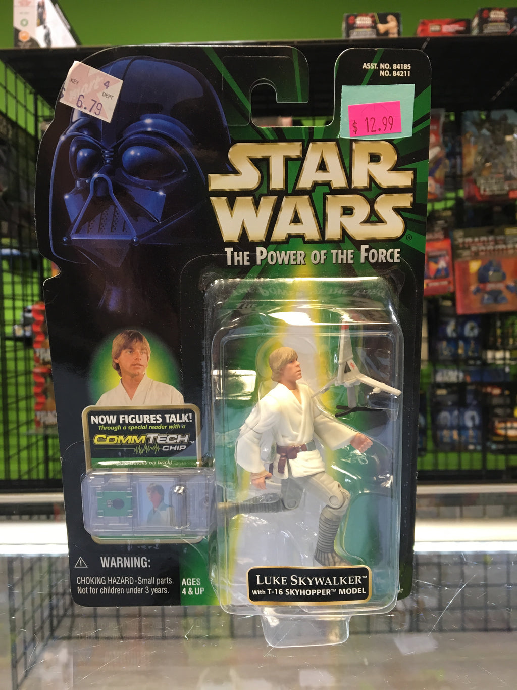 Hasbro Star Wars  The Power Of The Force Luke Skywalker