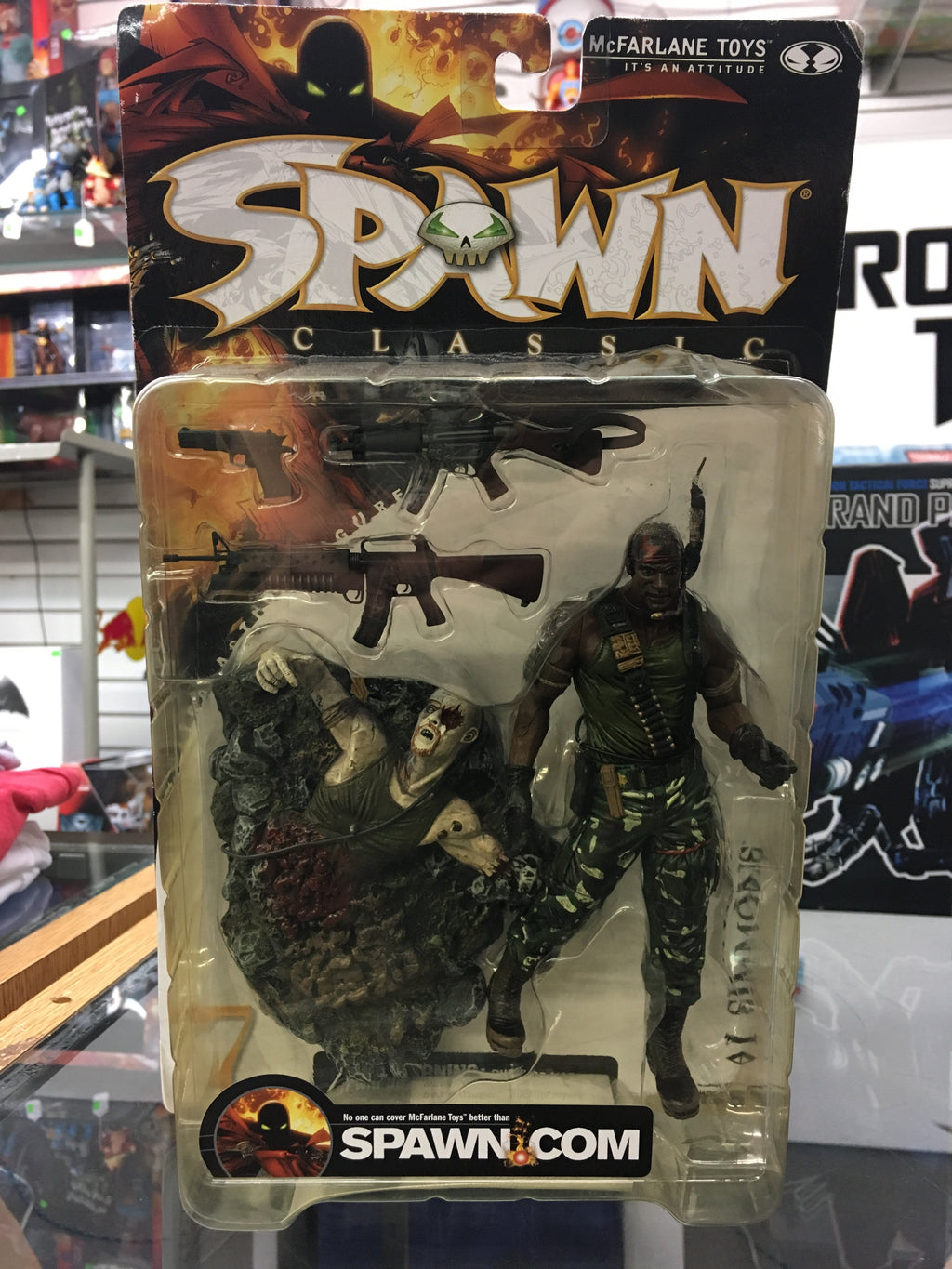 Spawn Series 17 Classic Al Simmons