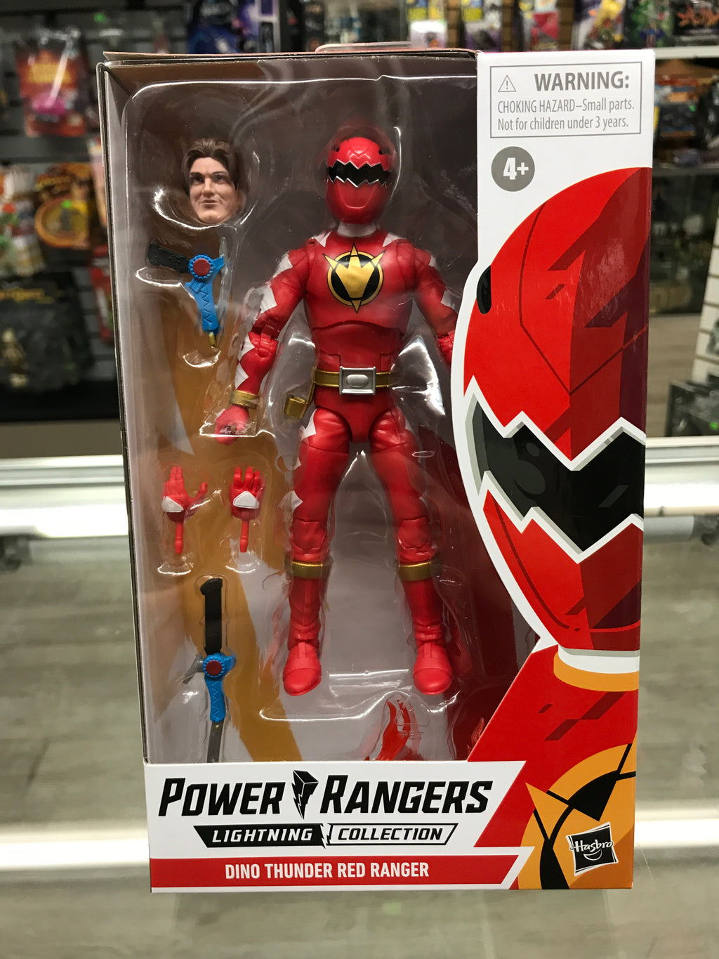 Saban's Power Rangers Lightning Collection Dino Thunder Red Ranger