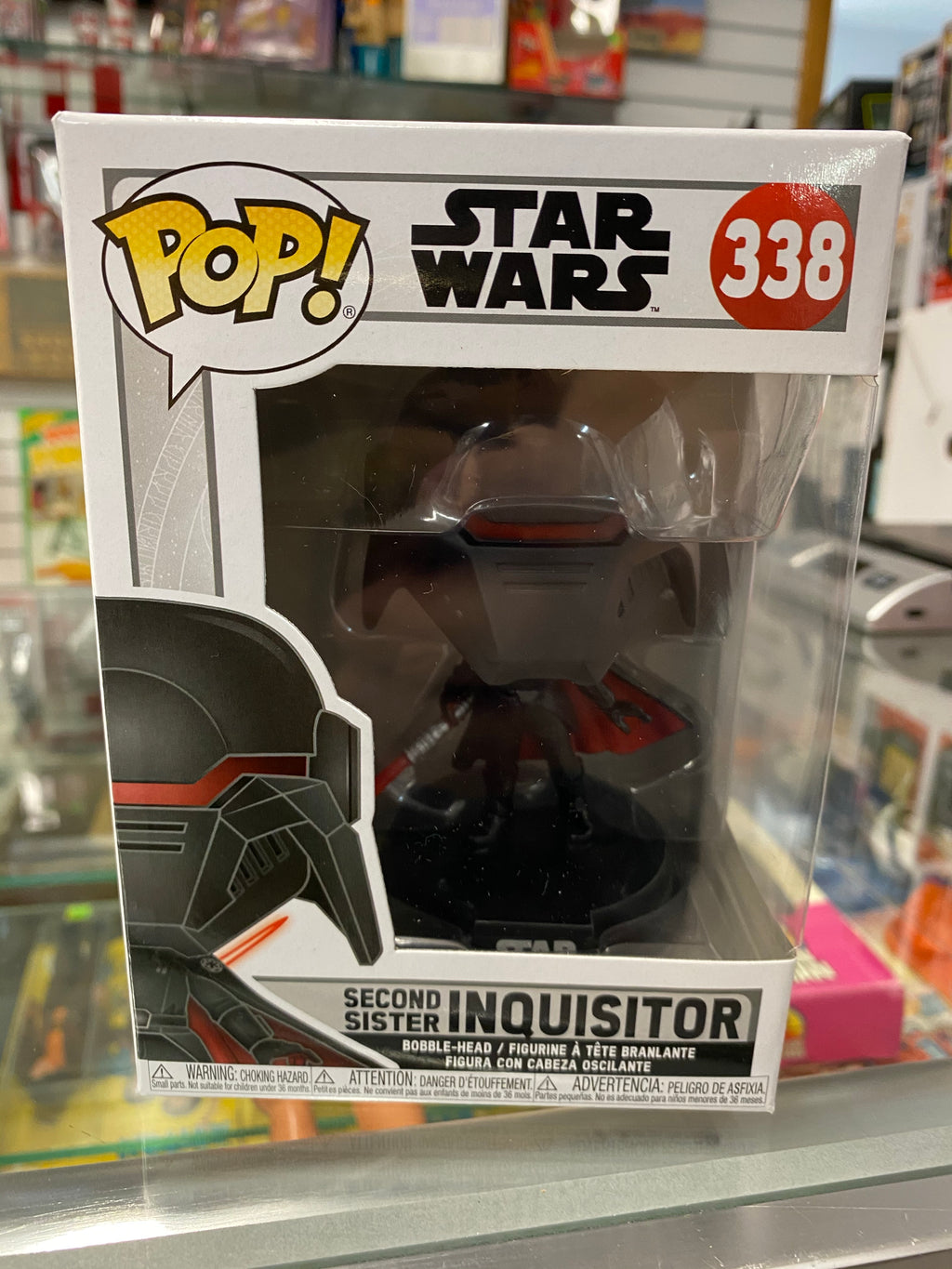 Funko POP Star Wars Second Sister Inquisitor 338
