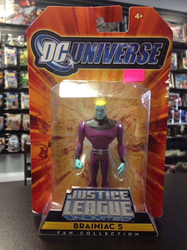Mattel DC Justice League Unlimited Braniac 5