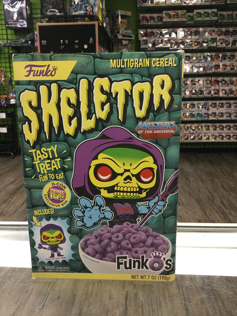 FUNKO Funko's Multigrain Cereal, Skeletor (Masters of the Universe) with Funko Shop Pocket POP! Exclusive