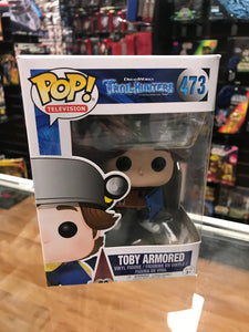 Funko Pop! TrollHunters Toby Armored 473