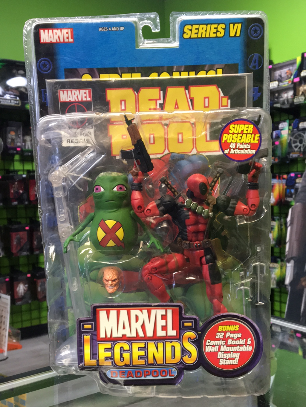 ToyBiz Marvel Legends Deadpool