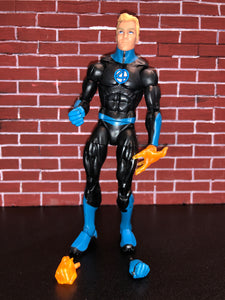 Hasbro Marvel Legends Series Fantastic Four HUMAN TORCH (Super Skrull BAF Wave)