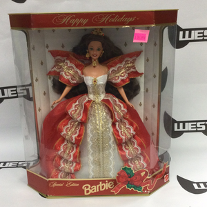 MATTEL Happy Holidays Barbie 1997