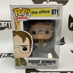 Funko POP! Television The Office Dwight Schrute #871 (distressed packaging)