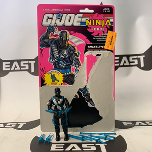 Hasbro G.I. Joe Ninja Force Snake Eyes V5