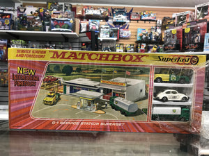 Matchbox Superfast Service Station and Forecourt