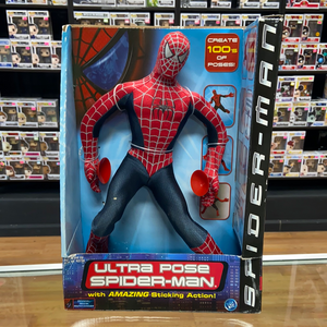 Toy Biz Spider-Man Ultra Pose Spider-Man (2002)