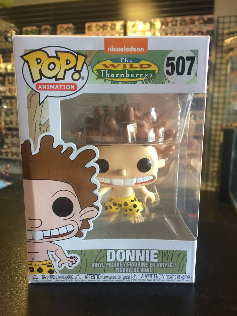 Funko Pop! Animation The Wild Thornberrys Donnie #507