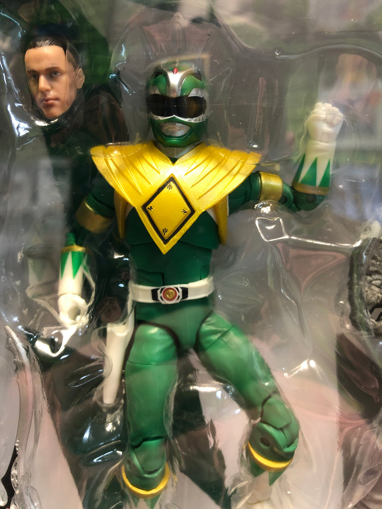 Hasbro Saban's Power Rangers Lightning Collection FIGHTING SPIRIT GREEN RANGER & MIGHTY MORPHIN PUTTY