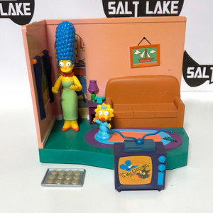 Playmates The Simpsons Living Room Play set 2000