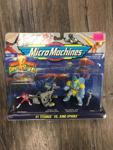 Micro Machines Mighty Morphin Power Rangers #1 Titanus Vs. Sphinx