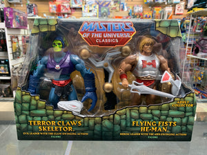 Mattel Masters Of the Universe Classics Terror Claws Skeletor & Flying Fists He-Man
