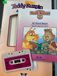 Teddy Ruxpin Adventure Series All about Bears
