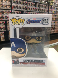 Funko Pop! Avengers Captain America #450