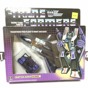 Hasbro G1 Transformers Skywarp Decepticon