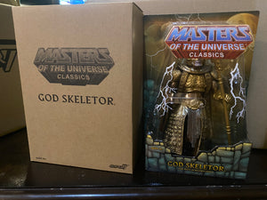 Super 7 He-Man And The Masters Of The Universe Classics God Skeletor