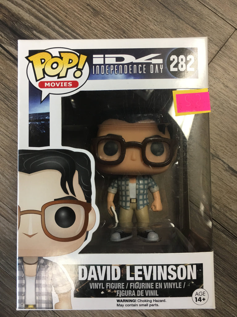 Funko Pop Movies ID4 Independence Day David Levinson 282