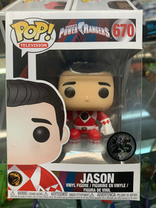 Funko POP! Television Saban's Power Rangers Jason #670