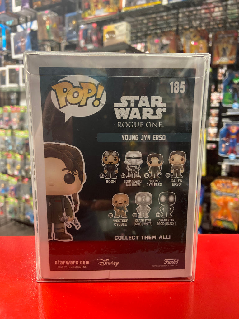 Funko Pop! Star Wars Rogue One Young Jyn Erso #185