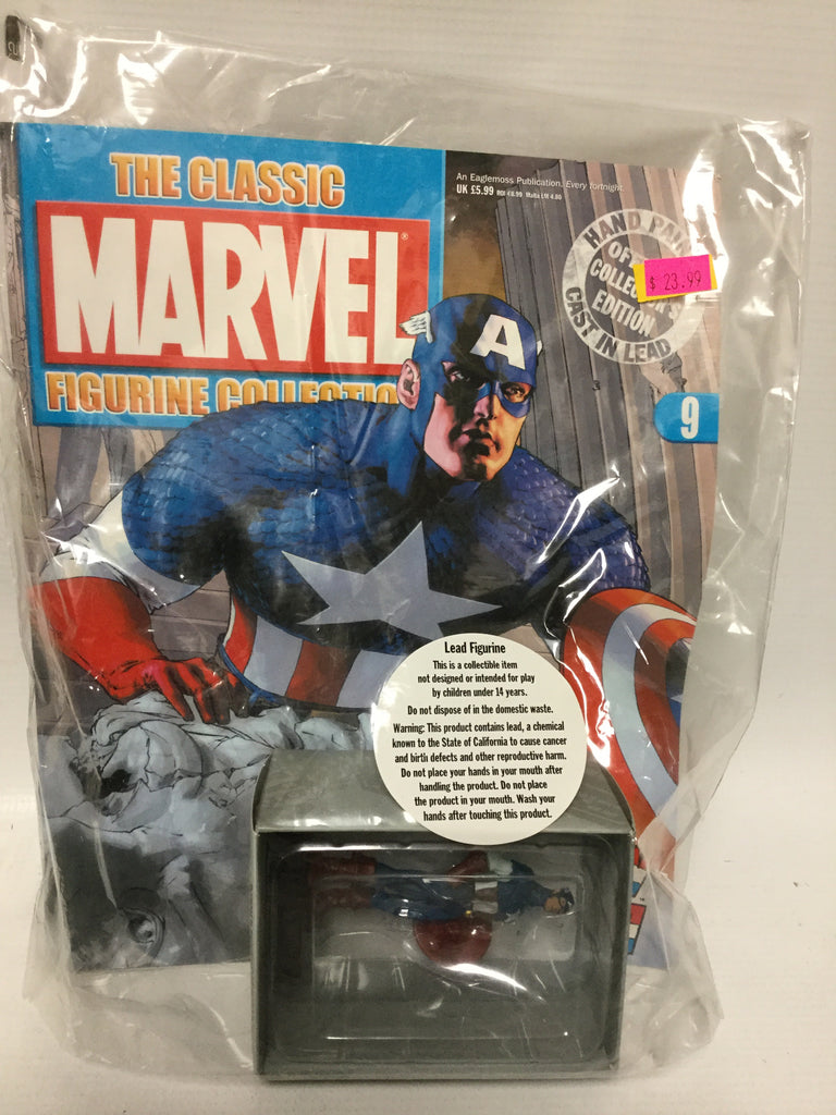 The Classic Marvel Figurine Collection Captain America