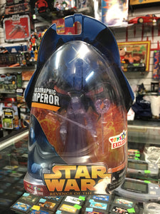 Star Wars Revenge of the Sith Holographic Emperor Exclusive