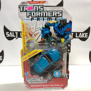 Hasbro Transformers Prime Robots in Disguise Deluxe Class Decepticon Rumble
