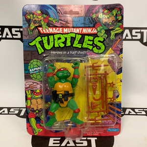 Playmates Teenage Mutant Ninja Turtles Raphael 10-Back (Hard Head)