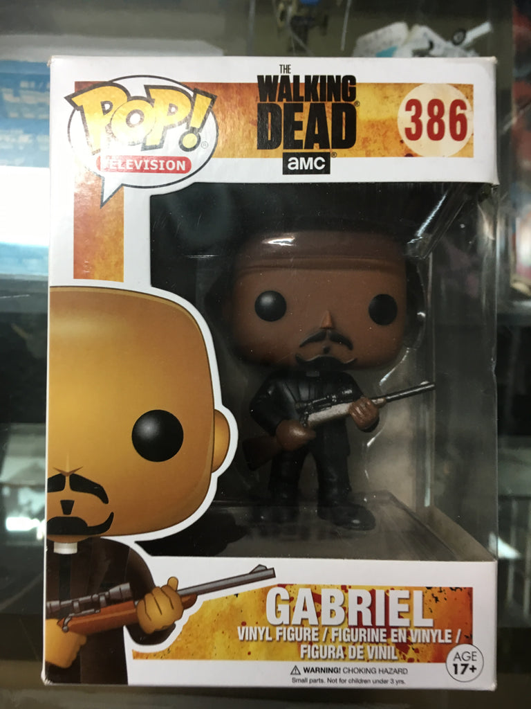 Funko POP! television- The Walking Dead Gabriel #386
