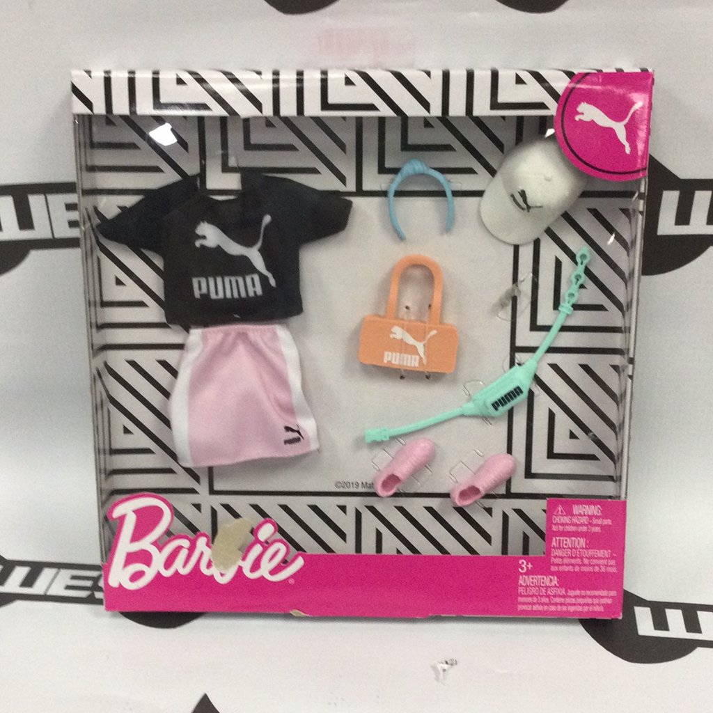 "MATTEL Barbie Deluxe Fashion Pack - ""Black PUMA"""