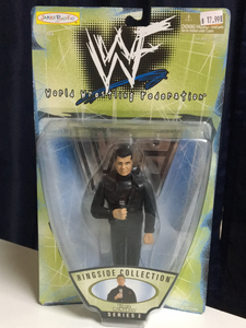 WWF Jakks Pacific Ringside Collection Vince McMahon