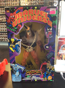 Toy Biz Marvel Universe Savage Force Wolverine