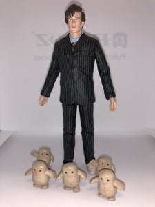 BBC Dr Who THE DOCTOR With 5 Adipose Figures (Series 4)