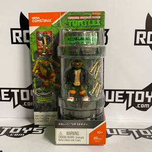 Mega Constructs Teenage Mutant Ninja Turtles TMNT Michelangelo Collector Series