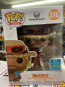 Funko POP! Games Overwatch McCree #516 2019 convention Exclusive