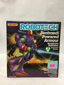 Matchbox Robotech Zentraedi Powered Armor Quadrono Battalion Zentraedi Enemy