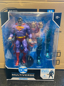 McFarlane DC Multiverse BAF The Merciless Superman Infected