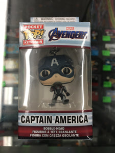 Pocket POP! Keychain- Avengers Captain America