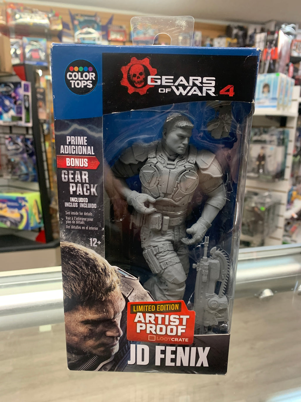 McFarlane Color Tops Gears of War Artist Proof JD Fenix