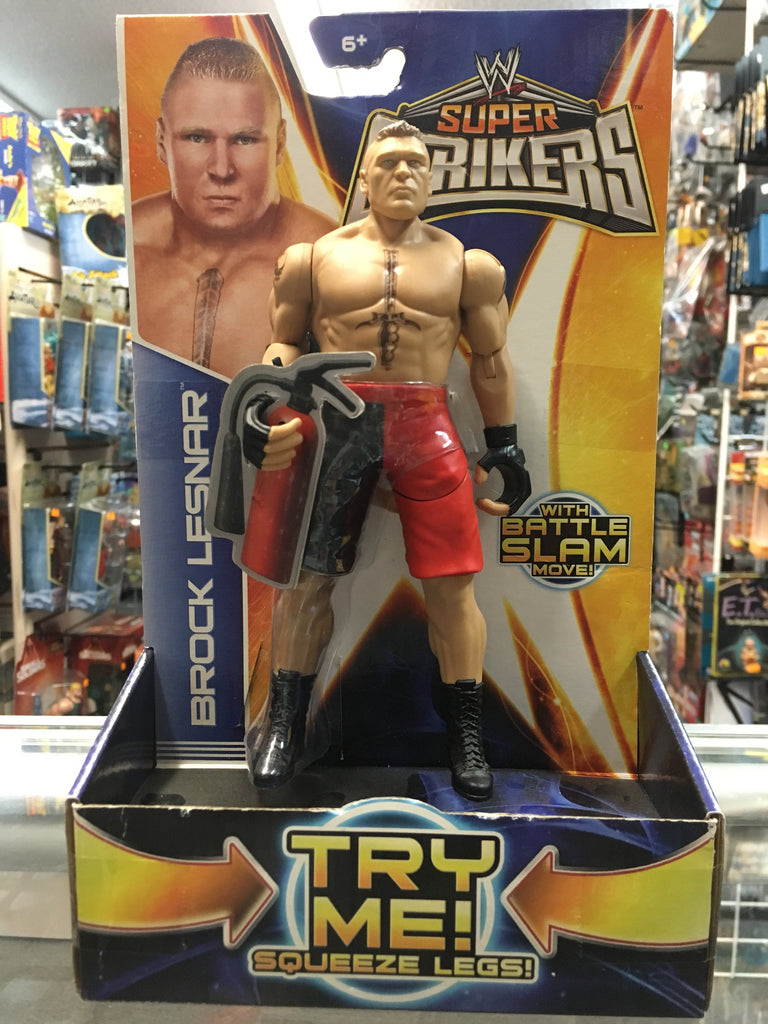 WWE Super Strikers Brock Lesnar