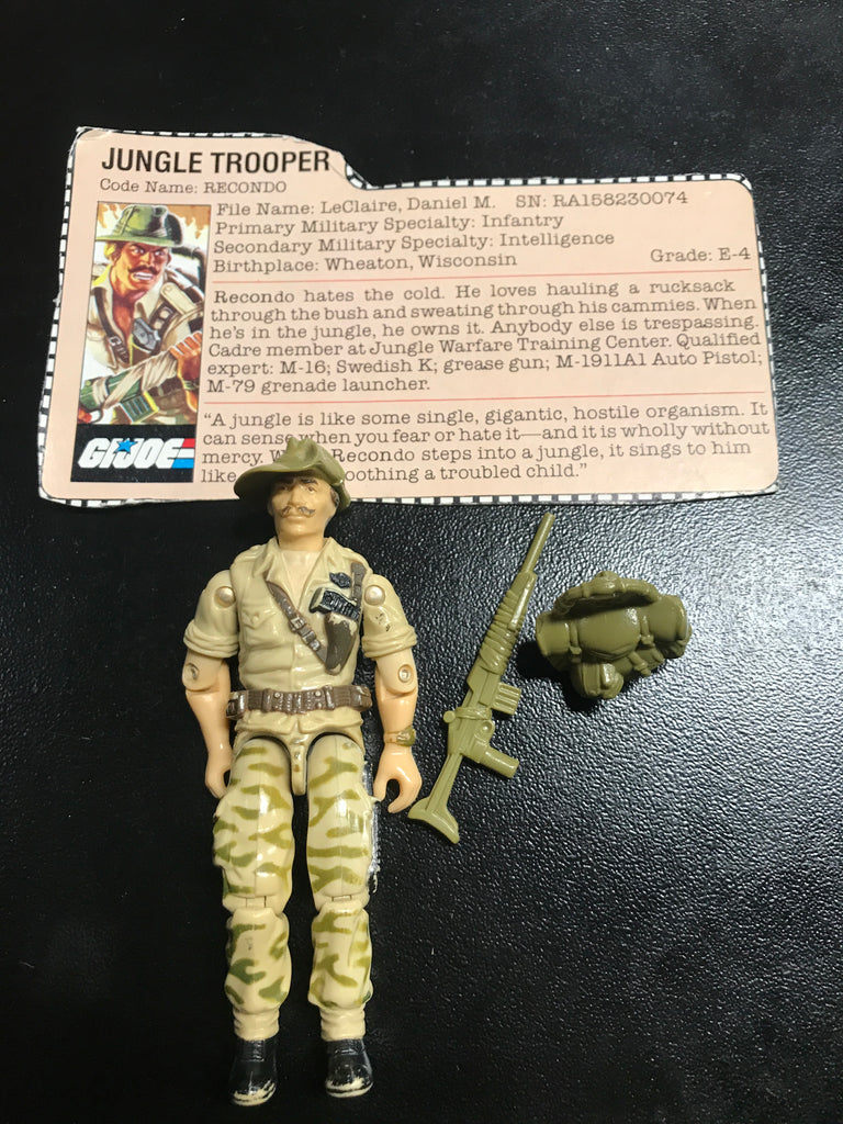 GI Joe Jungle Trooper Recondo