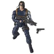 Hasbro Marvel Legends Black Widow Wave Crimson Dynamo BAF Winter Soldier