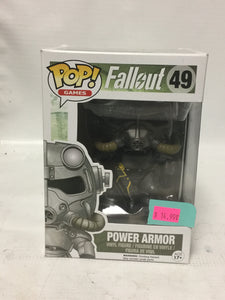 Funko POP Games! Fallout 49 Power Armor