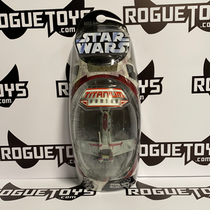 Hasbro Star Wars Titanium Series Republic Gunshop